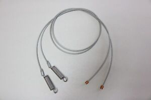 1968-71 Ford & Mercury Convertible Side Hold Down Tension Cables - Pair - New