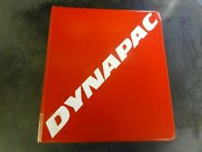 Dynapac CA250D Spare Parts Catalogue Catalog Manual