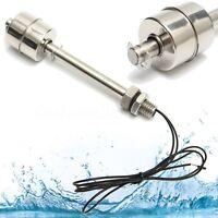 220V DC Détecteur Liquide Flotteur Interrupteur Capteur de Niveau d'Eau Inox