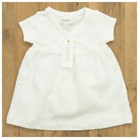 Gymboree Baby Girl Infant Clothes Newborn, 0-3 Months White Short Sleeve Dress