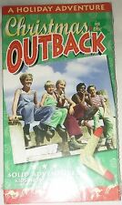 A Holiday Adventure - Christmas in the Outback (VHS)(B&W) NEW SEALED!