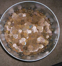1000-Wheat Pennies 1930s to 50s. 20 rolls total all mints mixed