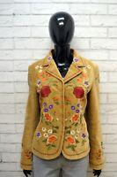 Giacca LIU JO Donna Size 44 ( M ) Maglia Blazer Jacket Woman Cotone Jacke Beige