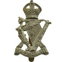 Original WW1 Royal Irish Rifles Regiment RIR Cap Badge - YC96