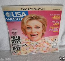 #8947 Daily News USA Weekend Magazine Sunday February 10-12, 2012 Jane Lynch