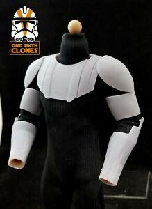"Star Wars 1/6 Clone Wars Style Jedi Kenobi Full Armor for Custom 12"" Figure"