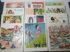 Lot of 12 Vintage Playskool Tray Frame Puzzles Golden Press Native Americans