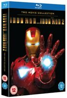 Iron Man 1 and 2 Blu-ray (2010) Robert Downey Jr, Favreau (DIR) cert 12