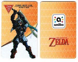 Fierce Deity Link Card Zelda Breath of The Wild