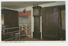VINTAGE POSTCARD THE INTERIOR OF BURNS' COTTAGE ALLOWAY AYR POSTED 1976.