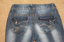 Mossimo Women's Jr Jeans Coupe Semi Evasee - Boot Cut - Size 3 Fit 6 Denim Jeans