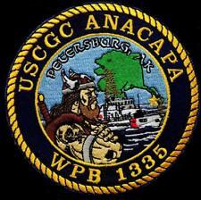 United States Coast Guard Uscgc Anacapa (Wpb-1335) cutter patch 4 inch