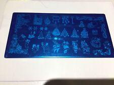 Christmas Stamping Plate , , Nail Art , Polish ,gel Acrylic
