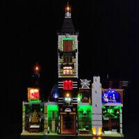 LED Light Lighting Kit For LEGO 10273 Haunted House Building Block Bricks