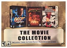 Movie Collection (PC, 2003) 007 INDIANA JONES GALACTIC BATTLEGROUNDS -SEALED BOX