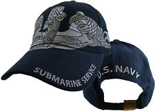 U.S. Navy Submarine Service Hat / USN Dark Navy Baseball Cap 6067