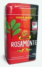YERBA MATE ROSAMONTE ORIGINAL TEA ARGENTINA LEAVES WITH STEMS 1KG (1000g)