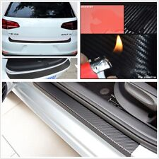 3D Waterproof Car Door Plate Sill Scuff Cover Car Accessories Sticker Pretection