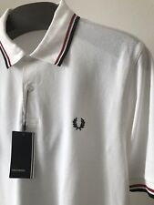 Bnwt Hommes Authentique Fred Perry M1200 748 Polo Shirt. Classic Fit. Medium