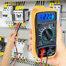 Digital Multi-Meter Voltmeter Ammeter Ac Dc Ohm Current Circuit Tester Uk