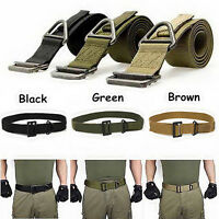 Outdoor Emergency Rescue Military Rigging Rigger Tactical Belts Adjustable
