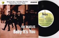 The Beatles EP 45 RPM Speed Vinyl Records