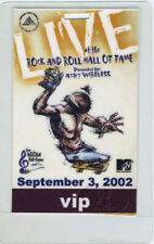 Rock n' Roll Hall of Fame 2002 Laminated Backstage Pass Ramones Tom Petty