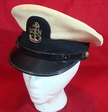 VINTAGE US NAVY CHIEF PETTY OFFICER HAT ( with owner name )