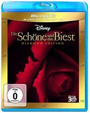 Die Schöne und das Biest Diamond Edition 3D Blu-ray + 2D NEU OVP Walt Disney