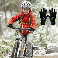 Winter Touch Screen Gloves Windproof Thermal Warm Kids Boys Gloves 1/2/3 Pairs