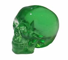 Colorful Green Clear Cast Resin Human Skull DIY Shift Knob Zombie Rat Rod Lever