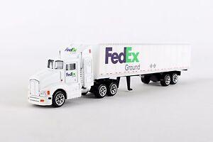 Daron RT1037 FedEx Ground Tractor Trailer Diecast Metal Truck 1/87 Scale Model