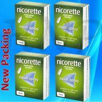 4 Units (Bulk Pack) x Nicorette Nasal Spray 10ml # Same DAY DISP Expiry Jan 2021