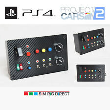 Sim Racing PlayStation 4 Project CARS 2 Control Panel 16 Functions Button Box
