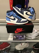 Nike Air Jordan Retro 1 Obsidian Blue OG High University Blue Sail Size 12