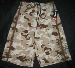 NEW Boy 14 16 Tony HAWK Camouflage Board Swim Shorts Trunks Swimsuit Lined Camo