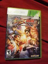 Street Fighter X Tekken (Microsoft Xbox 360, 2012)