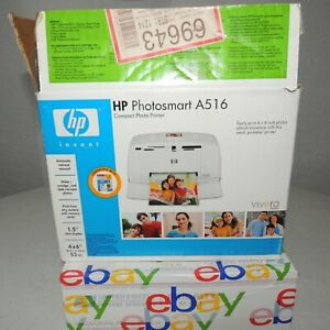 HP A516 Photosmart Compact Photo Printer