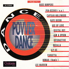 Compilation ‎CD Power Dance Vol. 1 - France (VG/VG+)