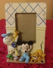 "Disney Babies: Donald, Mickey, & Pluto 2""X 3"" Picture/Photo Frame Collectible"