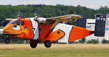 Short Skyvan 19 Seat High Wing Twin-Turboprop Aircraft Wood Model Free Shipping