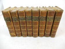 ROMA ANTICA DI FAMIANO NARDINI & ROMA MODERNA (Venuti) 1771 & 1767 8 Vol's Illus