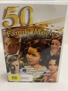 50 Family Movies DVD Box Set - All PAL