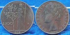 Italien 100 Lira  1958 prägefrisch