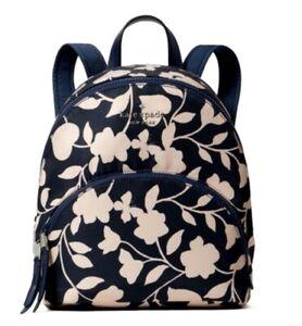 New Kate Spade New York Karissa Nylon Garden Vine Medium backpack Nightcap Multi