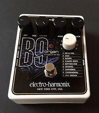 Electro-Harmonix B9 Organ Machine Effects Pedal Free Expedited Shipping!!