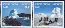 Greenland 1991 Norden Postal Co-operation, Tourism Views, Dog Sled, UNM / MNH