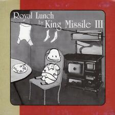 KING MISSILE III = Royal Lunch = CD = ROCK LO-FI !!
