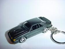 NEW 3D 1984 FORD MUSTANG SVO CUSTOM KEYCHAIN keyring key 2.3L turbo muscle!