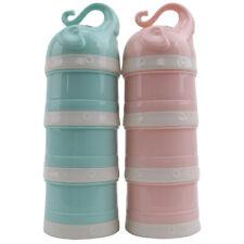 Baby Milk Powder Formula Dispenser Food Holder Container Storage Multi Layer Box